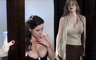 Three pornstars lesbians in underwear