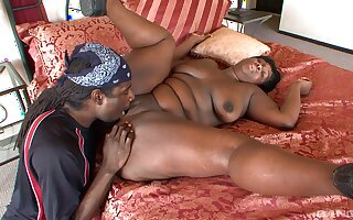 Serious drilling for a thick BBW in love with the BBC