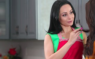 A Russian stepmom longs for her stepdaughter and that MILF loves to eat pussy