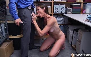 Glaze be beneficial to mature Sofie Marie getting fucked by a stand watch over