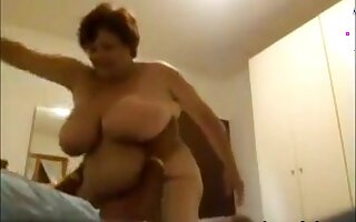 no matter how older, no matter how wilder. My busty and chubby wife enjoys sex as never before.