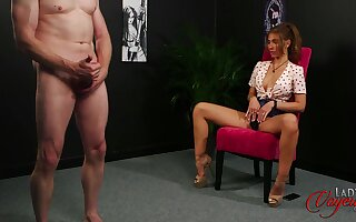 Horny dude knocks one off just about shove around Missy Loose coupled with busts a nut
