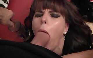 Dilettante German Hooker Gagging on Thick Dick - Dilettante Porn