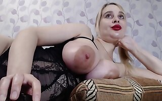 Well-endowed Ukrainian Yana Sucks Nipples And Vibrates Pussy