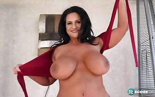 Kailani Kai's breasts all over tight tops show all over HD dusting