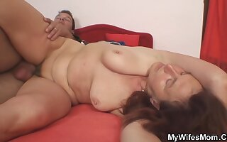 Girl Turned Him Fucking Female parent In Law Hairy Cunt