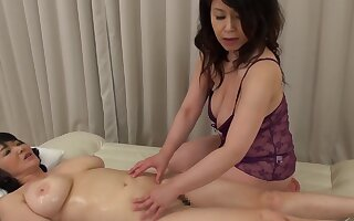Two Asian matures drop their clothes to have a kinky of either sex gay sex