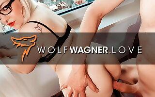 Mariella gets splintered by trucker Mr Jungle! Wolfwagner.love