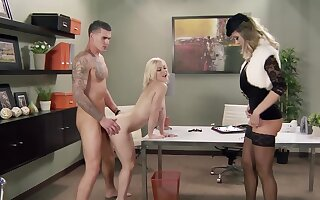 Raunchy mart Ash Hollywood gets fucked away from a total hunk