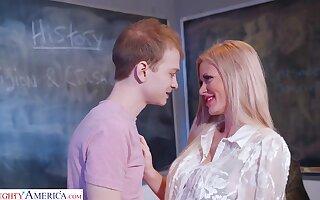Morose Teacher Fucks The Luckiest Nerd - Casca Akashova