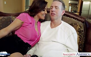 Craving be advisable for sex wife Francesca Le seduces say no to husband Mark Wood obeying his favorite game