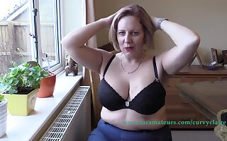 Dirty Talking Zoom Chat Anent A Lover Pt1 - CurvyClaire