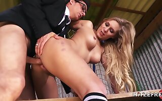 Seduced By Hotness Lena During A Training Master b crush