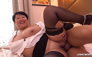 Celine The Sexy Asian Maid