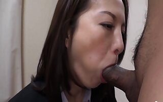 Horny Milf Gets Her Hole Drilled Deep By Her Doodah At The Office