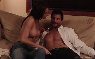 Erotic porno video where pornstar Silvia Saige gets fucked hard