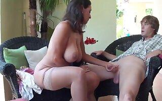 Stepmom Stepson Affair 86 (Mommy Sex Education)