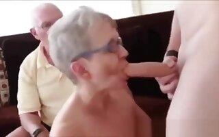 Grandpa Grandma Threesome