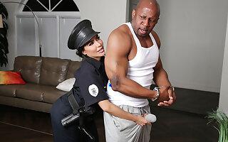 Lela Star & Prince Yahshua in Bad Cop Black Cock - RKPrime