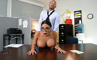 My Overly Anal Secretary Free Video With Luna Star - BRAZZERS