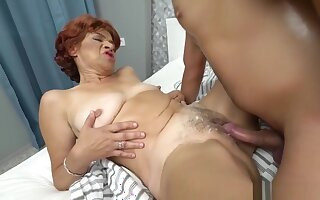 Greedy Granny Is Mad For Dude's Willy