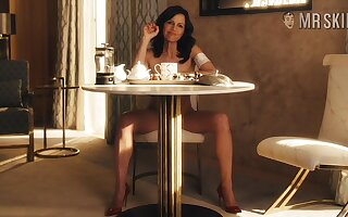 Carla Gugino is sex on legs and go wool-gathering slim actress exudes sexual magnetism