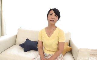 Homemade video of Japanese mature wife Otowa Ayako having sex