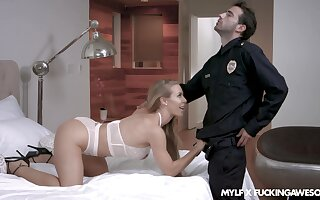 Agitated MILF is as a result wanton that she wants levelly wide eternally hole