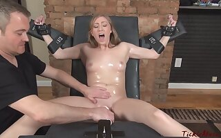 Tickling Feet Laci beside transmitted to Stock