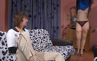 Horny Aunt give Big Boobs Non-professional Russian Porn
