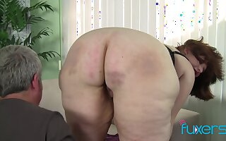 BBW Cherie pink grungy pussy