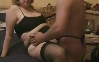 My busty chubby wife is close forth being perfect and she loves mish fuck