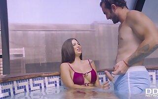 Spanish Babe Screwed in Her Bikini - Hard Fuck