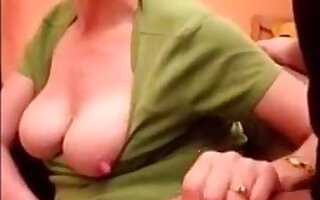 Horny matriarch positively like to suck dick and cum