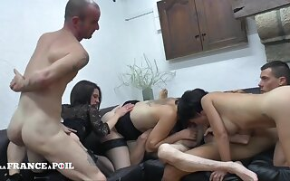 Very Nasty Swinger Private Party - Amateurs Orgy