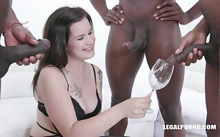Desirable Thirsty Teenager Zara Assfucked sauce pissing